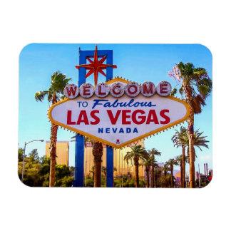 Magnet Flexible Accueil à l'aimant de signe de Las Vegas