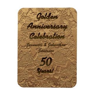 Magnet Flexible Aimant 50 de célébration d'anniversaire de mariage