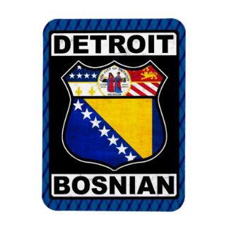 Magnet Flexible Aimant américain bosnien de Detroit