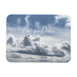 Magnet Flexible Aimant Carpe Diem, belle photo des nuages