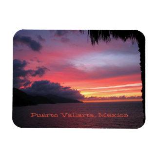 Magnet Flexible Aimant de coucher du soleil de Puerto Vallarta,