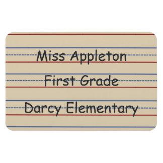 Magnet Flexible Aimant de Flexi de papier d'école primaire