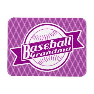 Magnet Flexible Aimant de grand-maman de base-ball