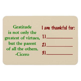 Magnet Flexible Aimant de gratitude