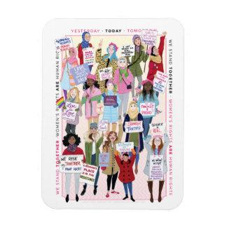 Magnet Flexible Aimant de mars des femmes