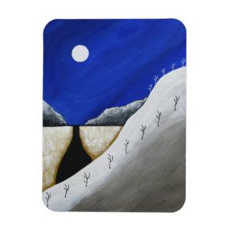 Magnet Flexible Aimant de Noël d'hiver de désert de sud-ouest