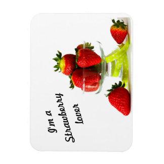 Magnet Flexible aimant de photo d'amant de fraise