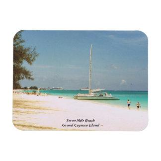 Magnet Flexible Aimant de photo de Grand Cayman