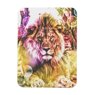 Magnet Flexible Aimant de photo de lion