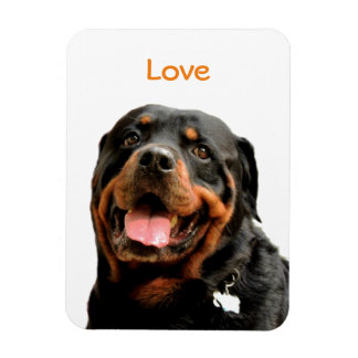Magnet Flexible Aimant de photo de rottweiler