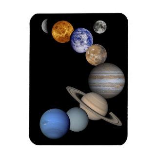 Magnet Flexible Aimant de planètes de système solaire