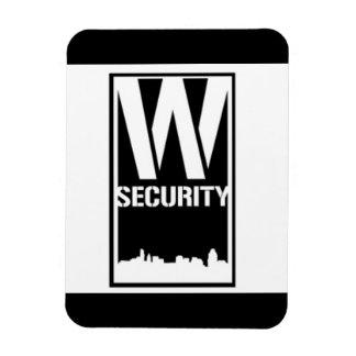 Magnet Flexible Aimant de rectangle de sécurité de salle