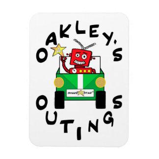 Magnet Flexible Aimant de réfrigérateur des sorties d'Oakley