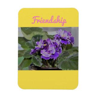 Magnet Flexible Aimant de violette africaine d'amitié