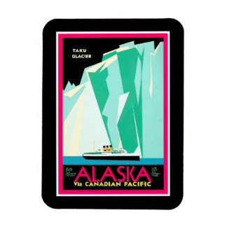 Magnet Flexible Aimant de voyage de l'Alaska