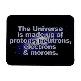 """Magnet Flexible """"Aimant drôle de l'univers"""""""