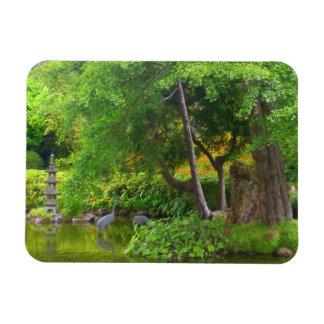 Magnet Flexible Aimant japonais de l'étang #4 de jardin de thé de