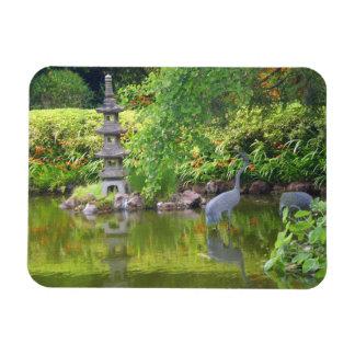Magnet Flexible Aimant japonais de l'étang #5 de jardin de thé de