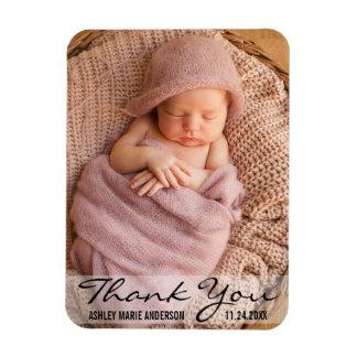 Magnet Flexible Aimant moderne de naissance de bébé de Merci