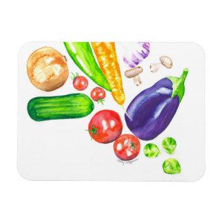 Magnet Flexible Aimant végétarien de cuisine de jardin
