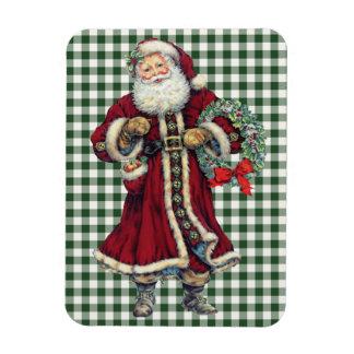 Magnet Flexible aimant vintage debout de père Noël