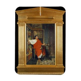 Magnet Flexible Alma-Tadema | expéditions romaines d'une écriture