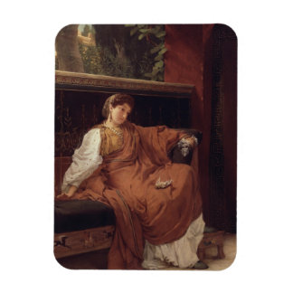 Magnet Flexible Alma-Tadema | Lesbia pleurant au-dessus d'un