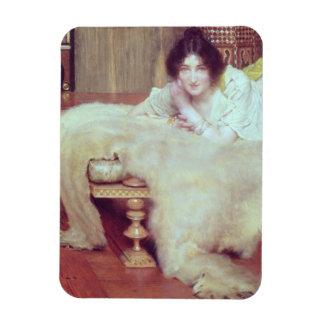 Magnet Flexible Alma-Tadema | un auditeur : La couverture d'ours,