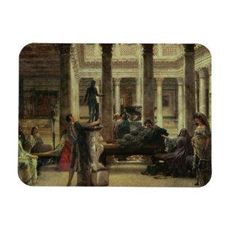 Magnet Flexible Amant d'art romain d'Alma-Tadema |, 1870