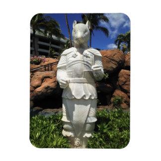 Magnet Flexible Année de la statue de rat, Waikoloa, Hawaï