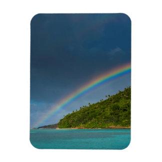 Magnet Flexible Arc-en-ciel au-dessus d'île, Samoa américaines