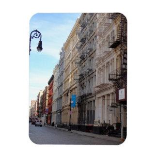 Magnet Flexible Architecture New York de fer de fonte de SoHo de