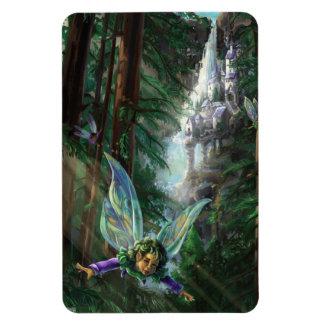 Magnet Flexible Art d'imaginaire de fée et de châteaux