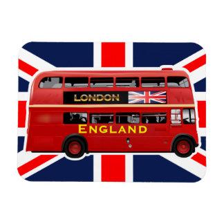 Magnet Flexible Autobus à impériale vintage de Londres