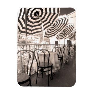 Magnet Flexible Balcon étrange de restaurant, Italie