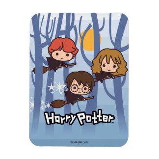 Magnet Flexible Bande dessinée Harry, Ron, et vol de Hermione en