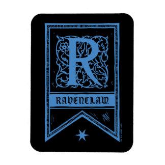 Magnet Flexible Bannière de monogramme de Harry Potter | Ravenclaw