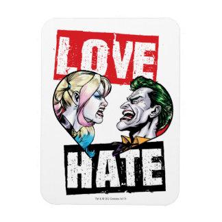 Magnet Flexible Batman | Harley Quinn et amour de joker/haine