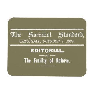 Magnet Flexible Beige éditorial de 1904 octobre de norme