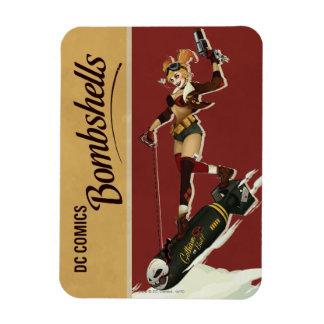 Magnet Flexible Bombes de Harley Quinn de pin-up