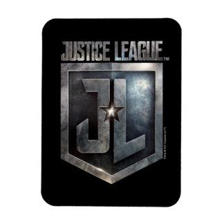 Magnet Flexible Bouclier métallique de la ligue de justice   JL