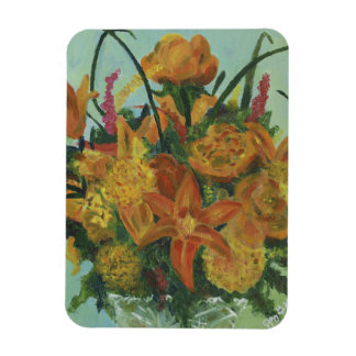 Magnet Flexible Bouquet orange - aimant