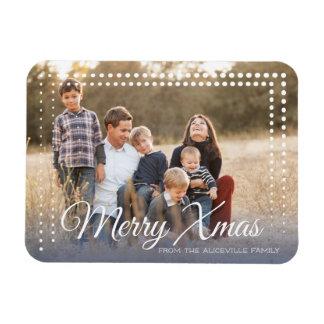 Magnet Flexible Cadre de point - Noël - aimant de photo