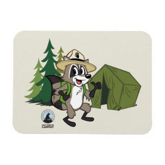 Magnet Flexible Campout américain de Rick | de garde forestière