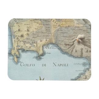 Magnet Flexible Carte du Golfe de Naples et d'abords