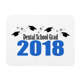 Magnet Flexible Casquettes et diplômes du diplômé 2018 d'école
