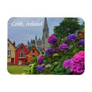 Magnet Flexible Cathédrale et aimant de Cobh Irlande de fleurs