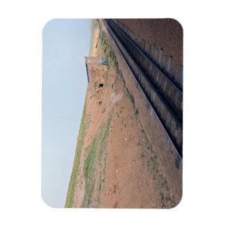 Magnet Flexible Chambre de station le long de chemin de fer de