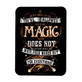 Magnet Flexible Charme | de Harry Potter juste puisqu'on vous