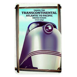 Magnet Flexible Chemin de fer transcontinental Etats-Unis
